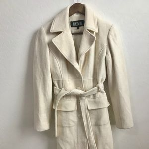 Marvin Richards XS Cream Trench Coat